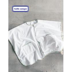 Poncho en tissu éponge