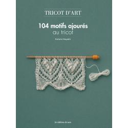 104 motifs ajourés au tricot