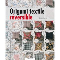 Origami textile réversible