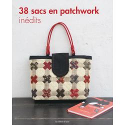 38 sacs en patchwork inédits