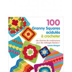 100 Granny Squares acidulés