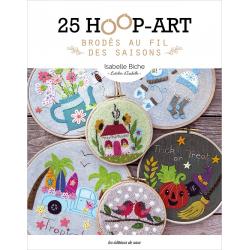 25 hoop-art brodés au fil...