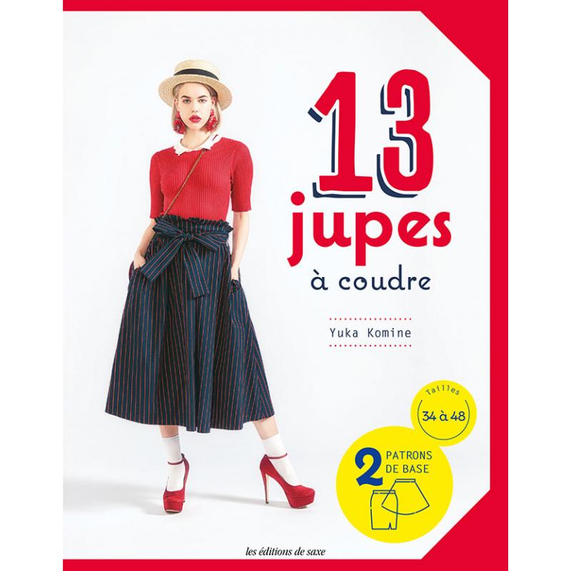13 modèles de jupes -2 patrons
