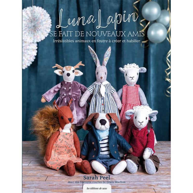 Luna lapin en couture créative
