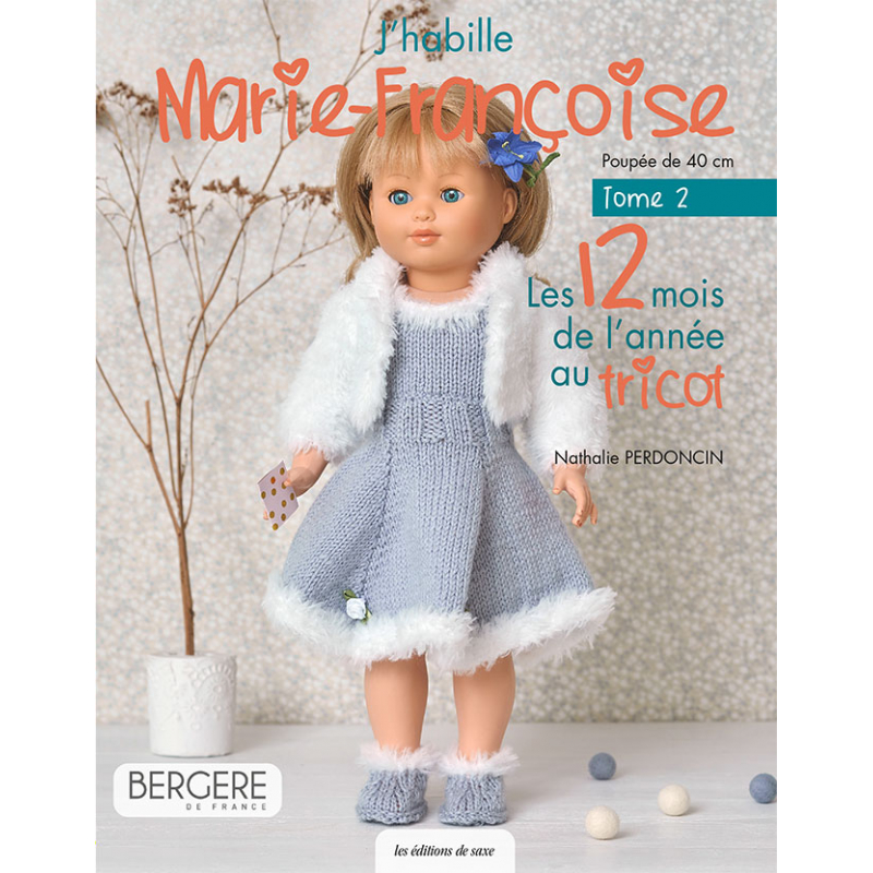 Marie-Françoise au tricot...