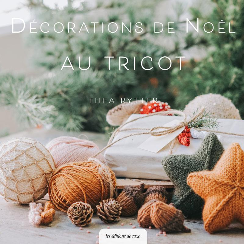 Décorations de Noël au tricot