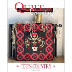 Quilt Country n° 68 : Fêtes...