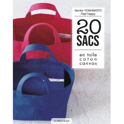 20 sacs en toile coton canvas