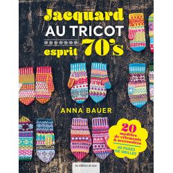 Jacquard au tricot esprit 70's