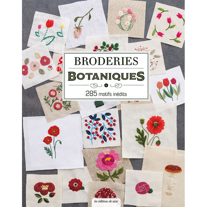Broderies botaniques - 285...