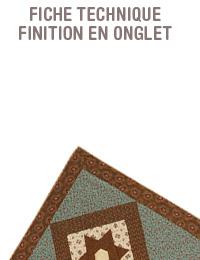 bases patch patchwork quilt quilting technique comment pas à pas explications finition onglet editions saxe edisaxe