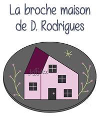 modele gratuit tuto broderie applique thermocolle thermocollant dominique rodrigues broche maison maisonette bijou editions saxe edisaxe