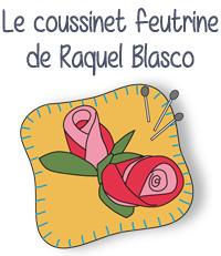 modele gratuit couture feutrine raquel blaco coussinet pique aiguile epingle rose roses fleurs aiguille fete editions saxe edisaxe