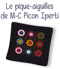 modele tuto pique aiguille epingle applique broderie marie claude picon iperti editions saxe edisaxe