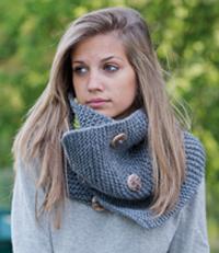 modele tricot crochet snood echarpe tour cou point mousse